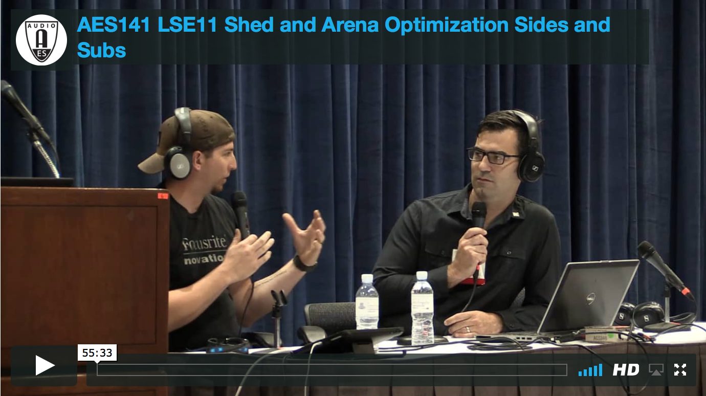 Shed & Arena Optimization: Sides & Subs