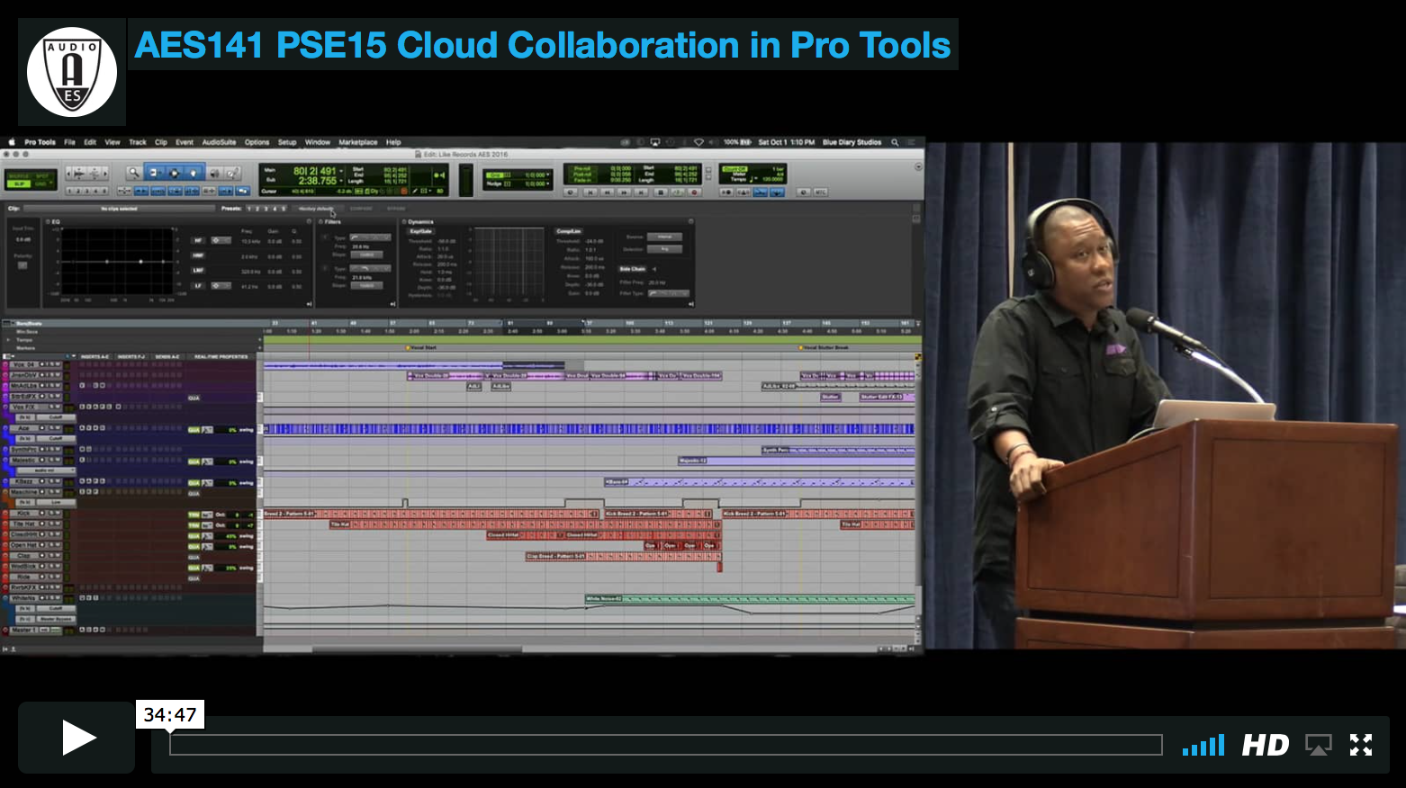 AES Live: Video » Greg Stryke Chin: Cloud Collaboration in