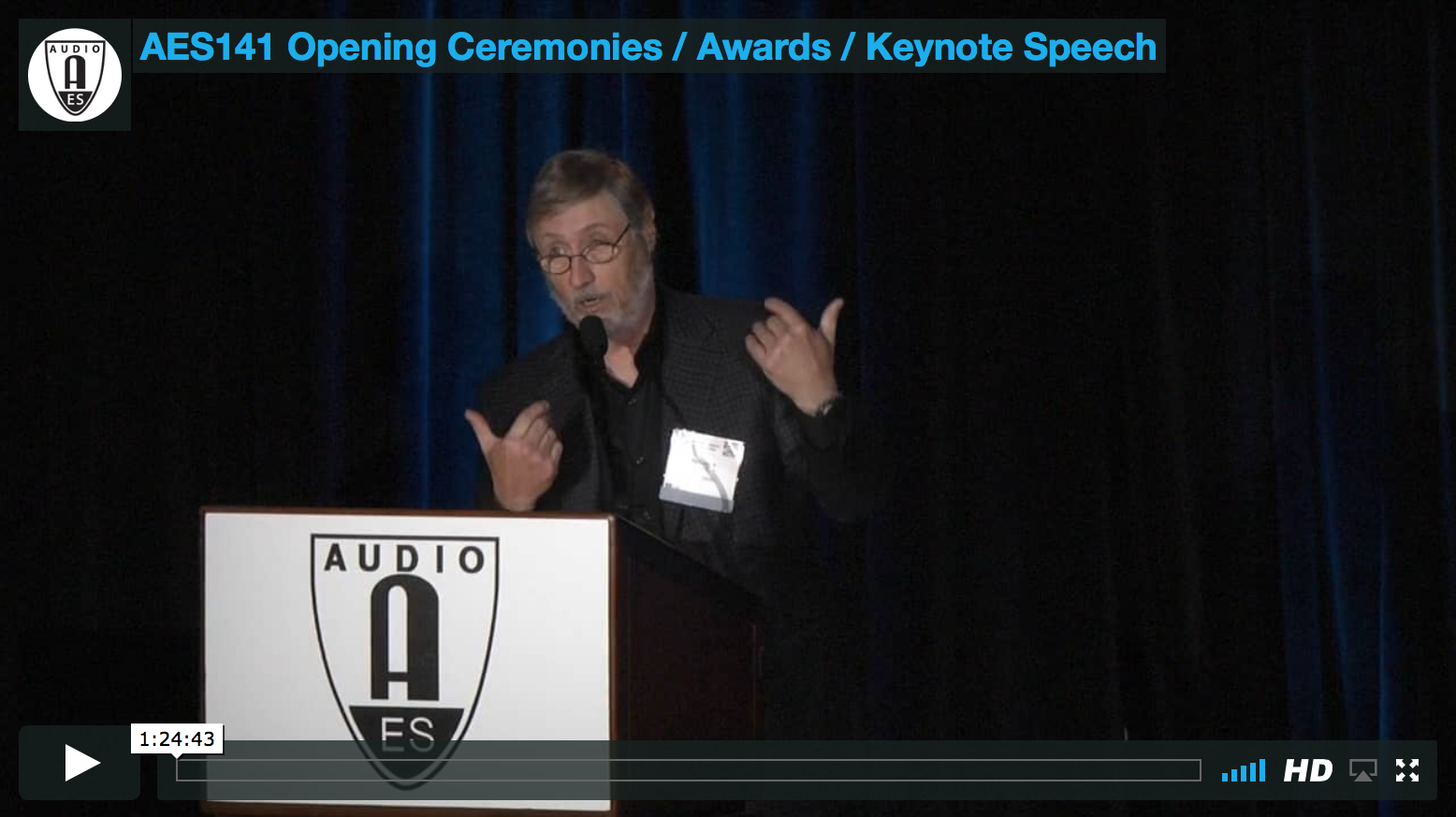 141st Convention Opening Ceremonies / Awards / Keynote Speech