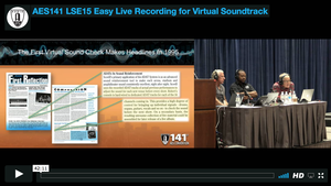 Easy Live Recording for Virtual Soundcheck