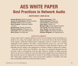 Best Practices in Network Audio
