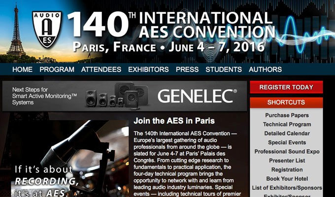 Expanded Exhibits Hall and Tech Program Offerings for Exhibits-Plus and All Access Attendees at AES Paris