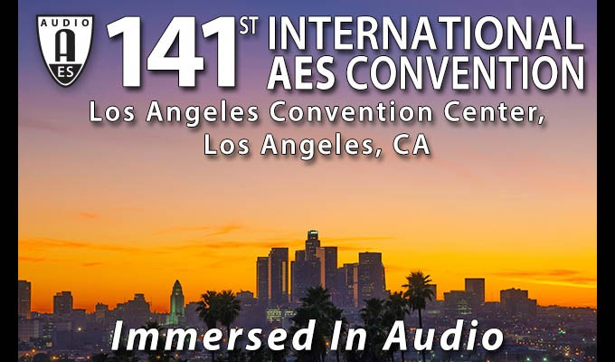 AES L.A. Convention Advance Registration Ends Sunday – Act Now for Free Exhibits-Plus or Discounted Pricing on All Access Badges