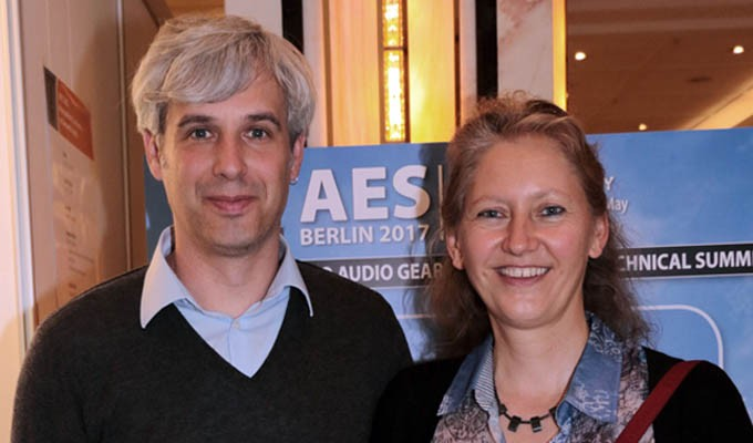 AES Berlin 2017 co-chairs Sascha Spors and Nadja Wallaszkovits led the team that produced the 143rd AES Convention.