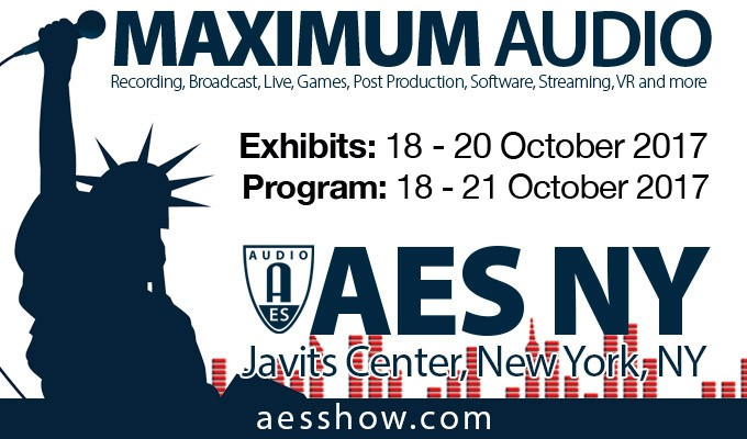 Best Paper Awards Announced for Upcoming AES New York Convention