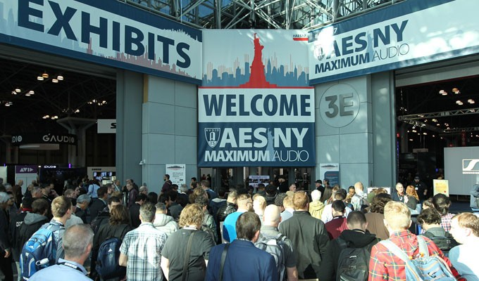 AES New York 2017 Attendees Experience Maximum Audio in the Big Apple