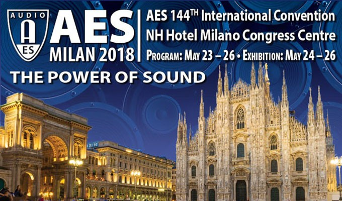 The Power of Sound — AES Milan 2018