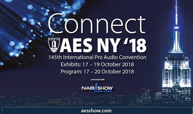 AES New York Convention Exhibits-Plus and All Access Registration Now Available Online