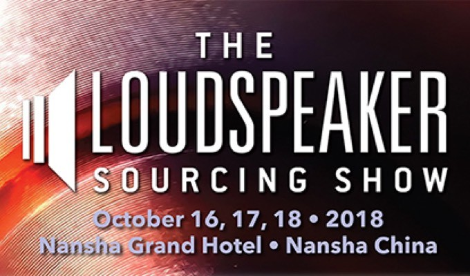 AES to Exhibit at the Loudspeaker Sourcing Show in Nansha, China