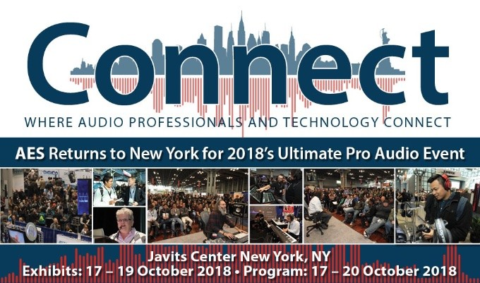 Four days of Audio for Cinema events are set to take place at the AES New York 2018 Convention