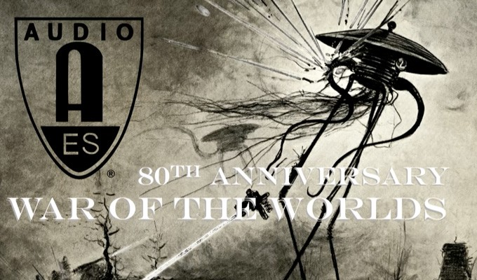 "AES New York Convention Video - 80th Anniversary of The Mercury Theater's ""War of the Worlds"""
