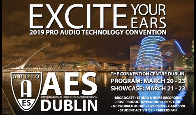 AES Dublin Technical Program Details Now Online
