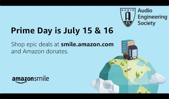 Support the AES by Shopping on Prime Day and Throughout the Year Using Amazon Smile