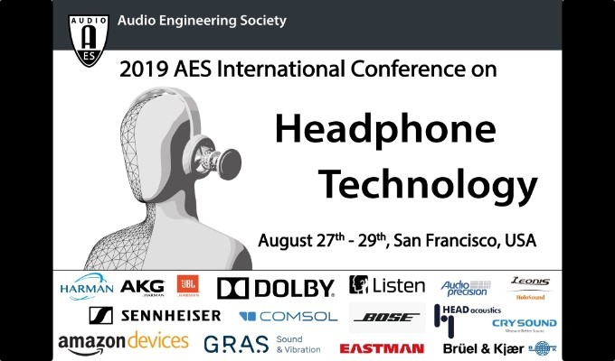 AES Headphone Technology Conference to Dig Deep into Emerging Audio Technologies and Applications