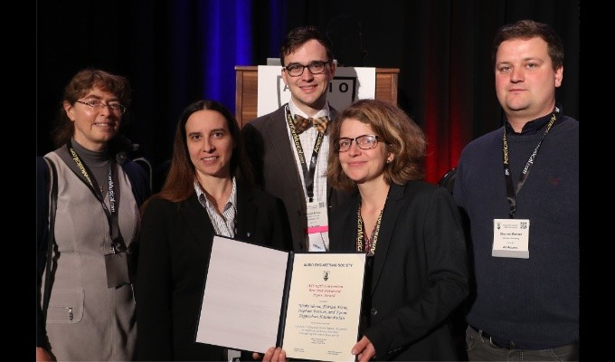 AES New York 2019 Convention Presents Best Peer-Reviewed and Student Paper Awards