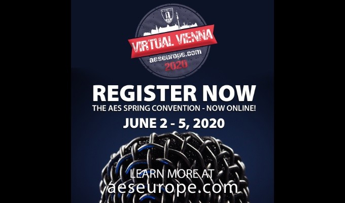 The AES Virtual Vienna Convention will offer online on-demand content presenting research in audio science and application