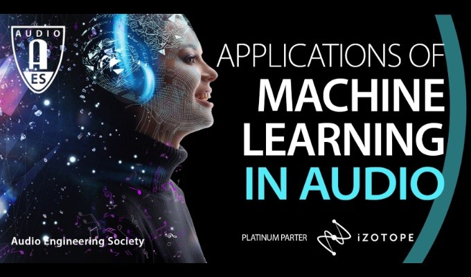 The AES Announces Featured Presenters for AES Symposium on Applications in Machine Learning in Audio, taking place September 28 and 29