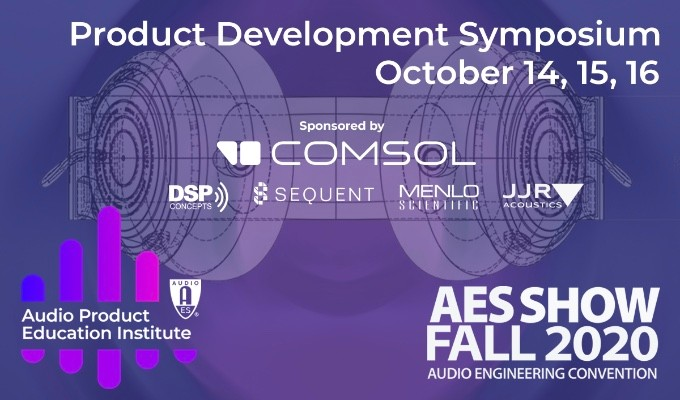Audio Engineering Month events will feature AES's APEI Product Development Symposium, October 14 — 16