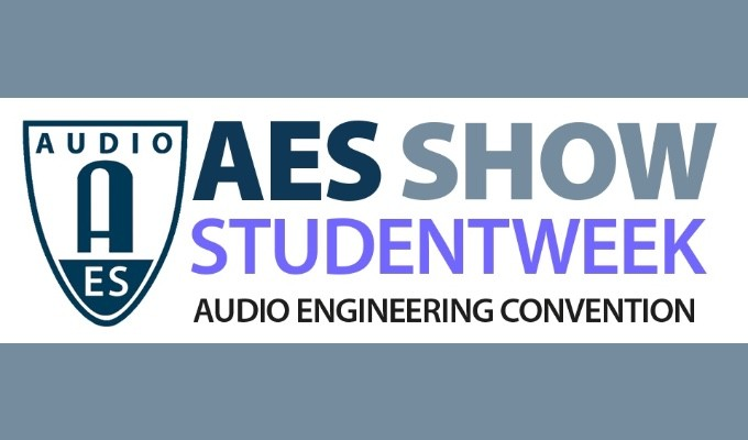 AES Show Student Week education and career events will take place October 19 — 23