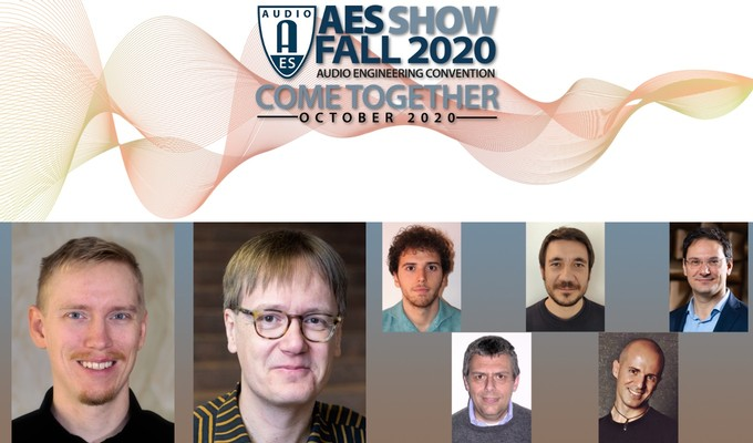 AES Show Fall 2020 Convention Best Papers Awards and Student Competition Winners Announced