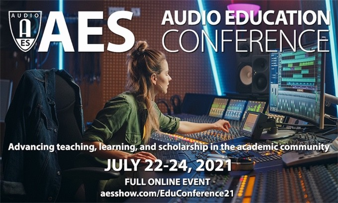 Register Now for the AES Audio Education Conference 2021