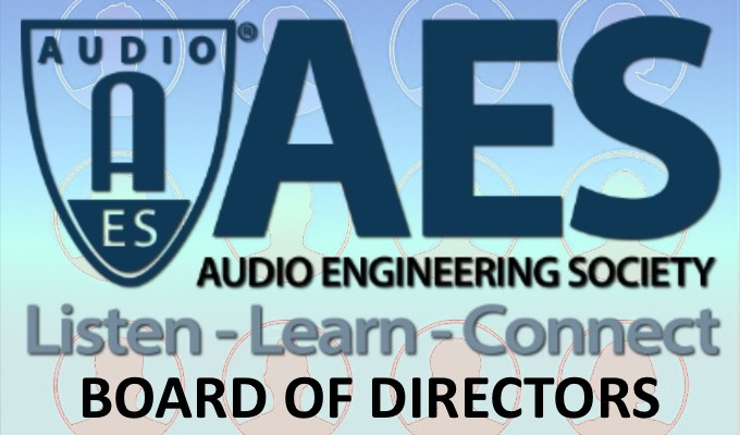 A Message from AES Directors