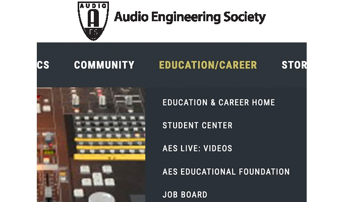 New and recent this week on the AES Job Board