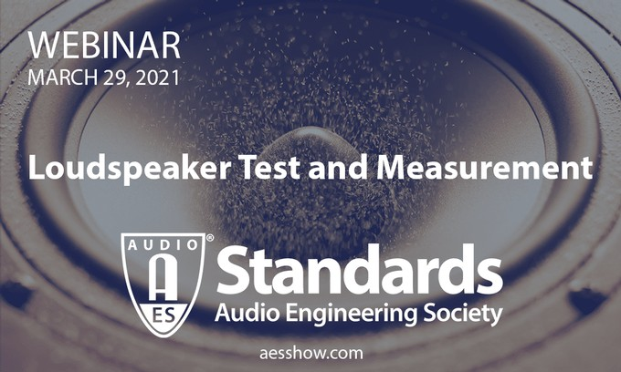 The Audio Engineering Society new series of Standards webinars will highlight the vital role of the AES Standards Committee and its work in the establishment of audio standards and practices.