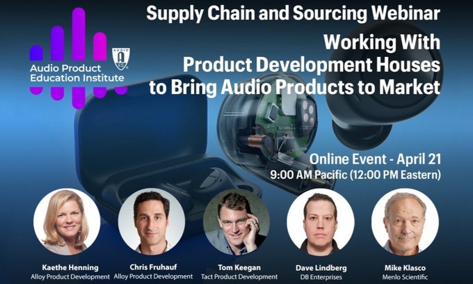 AES Audio Product Education Institute Webinar to Address Multiphysics Simulation in Audio Product Design