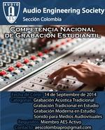 Competencia Nacional de Grabación Estudiantil / National Student Recording Competition