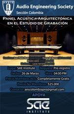 Panel Acústica Arquitectónica en el Estudio de Grabación