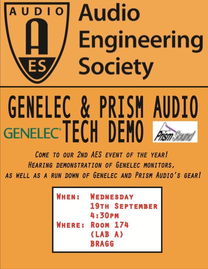 Genelec and Prism Audio