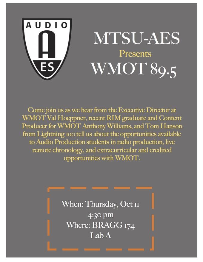 WMOT 89.5 and Broadcast Technology