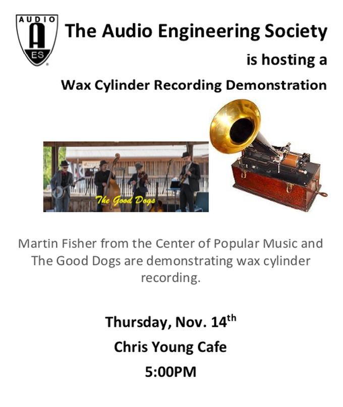 Wax Cylinder Recording