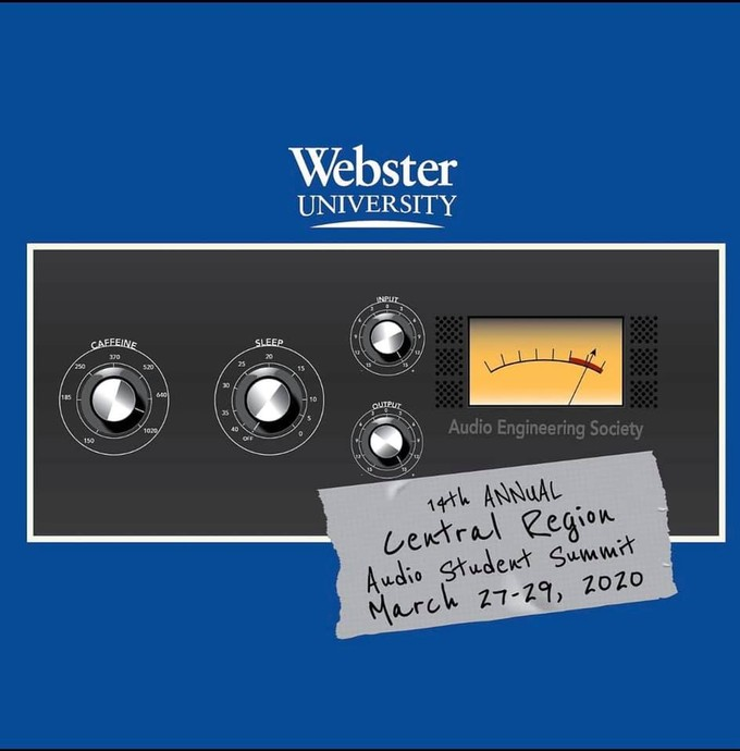 Webster University's 14th Annual Central Region Audio Student Summit