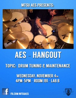 Studio Hang—Drum Tuning and Maintenance