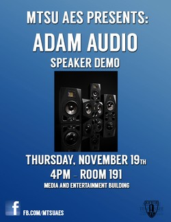 Loudspeaker Demonstration and Technical Talk