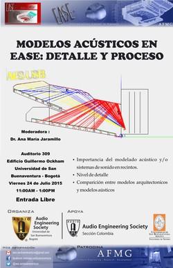 Modelos Acústicos en EASE: detalle y proceso