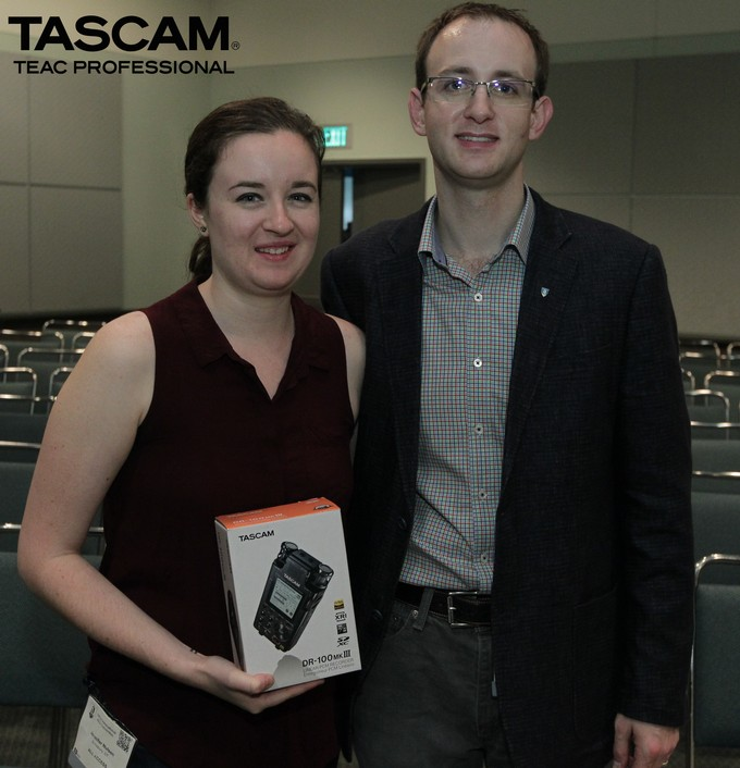 AES 141 Thank the sponsors Tascam
