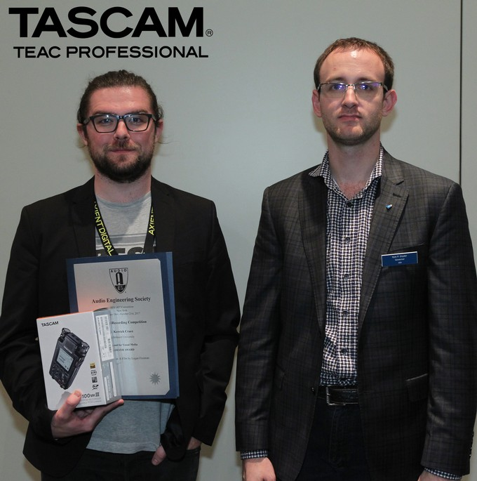 AES 143 | Thank You Sponsors! TASCAM