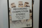 132nd Recording Competition Deadline April 2nd