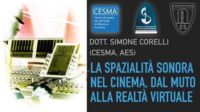 Past Event: La spazialità sonora nel cinema, dal muto alla realtà virtuale