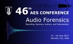 46th International Conference of the AES on Audio Forensics