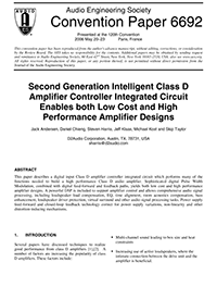 AES E-Library » Second Generation Intelligent Class D