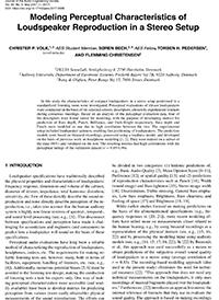 aes e library modeling perceptual characteristics of loudspeaker18729 Exame Hvc #12