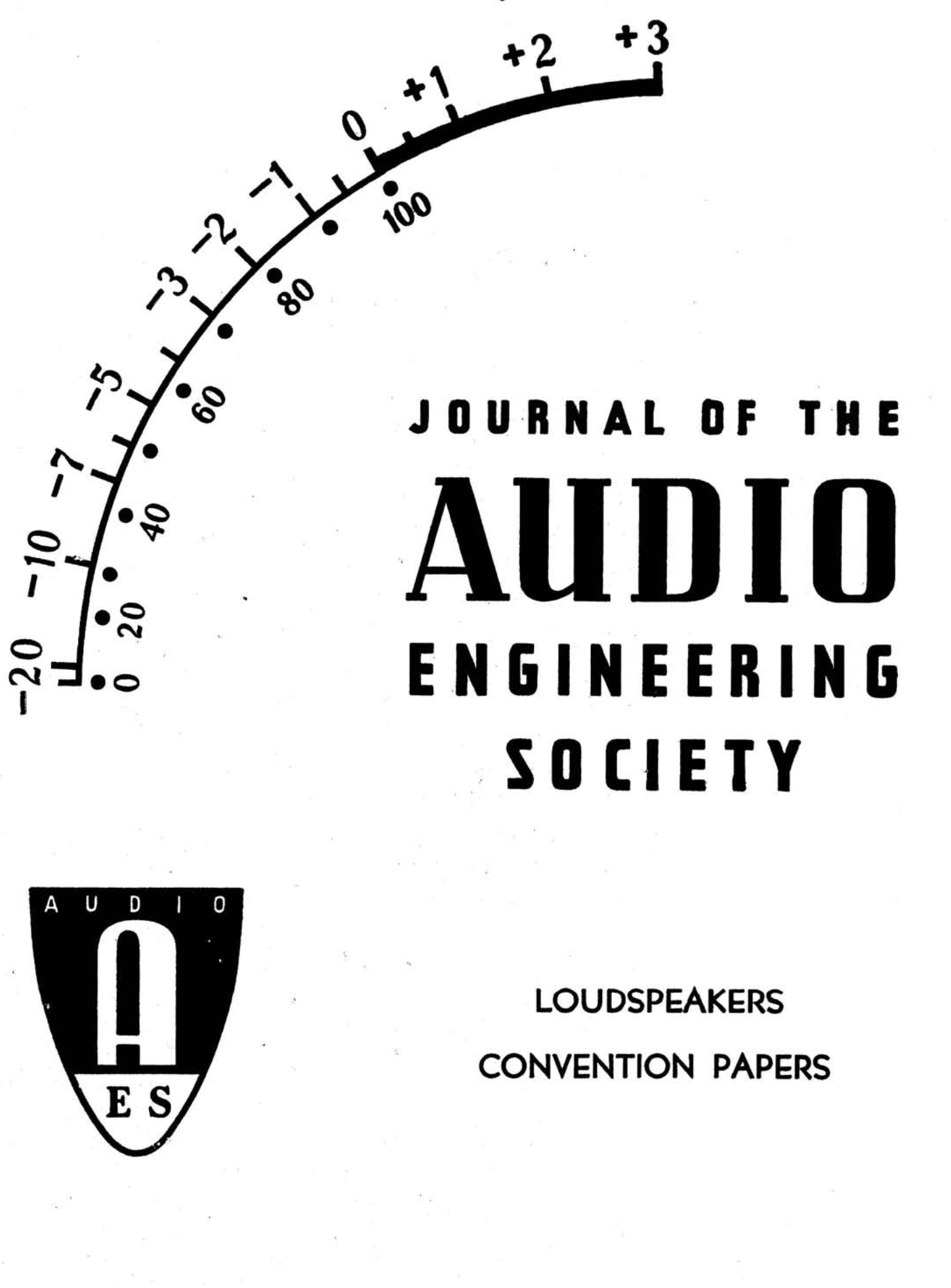 Aes E Library Complete Journal Volume 7 Issue 1