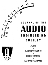 AES E-Library » Complete Journal: Volume 13 Issue 3