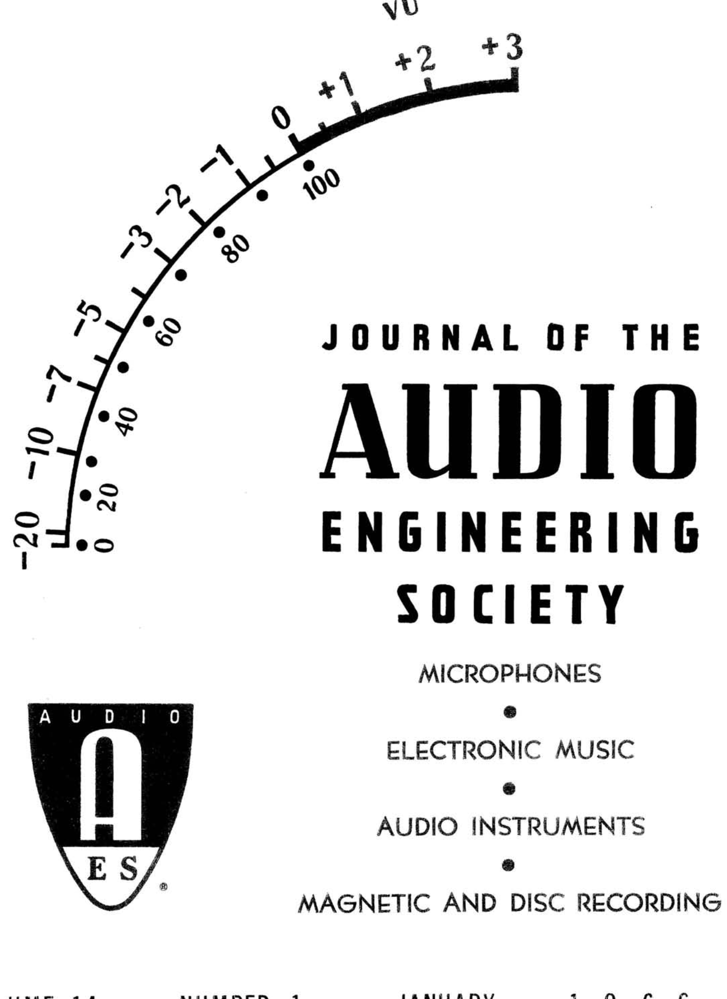 [QNCB_7524]  AES E-Library » Complete Journal: Volume 14 Issue 1 | 1986 Ford Tempo 2 3 Hse Cfi Engine Diagram |  | Audio Engineering Society