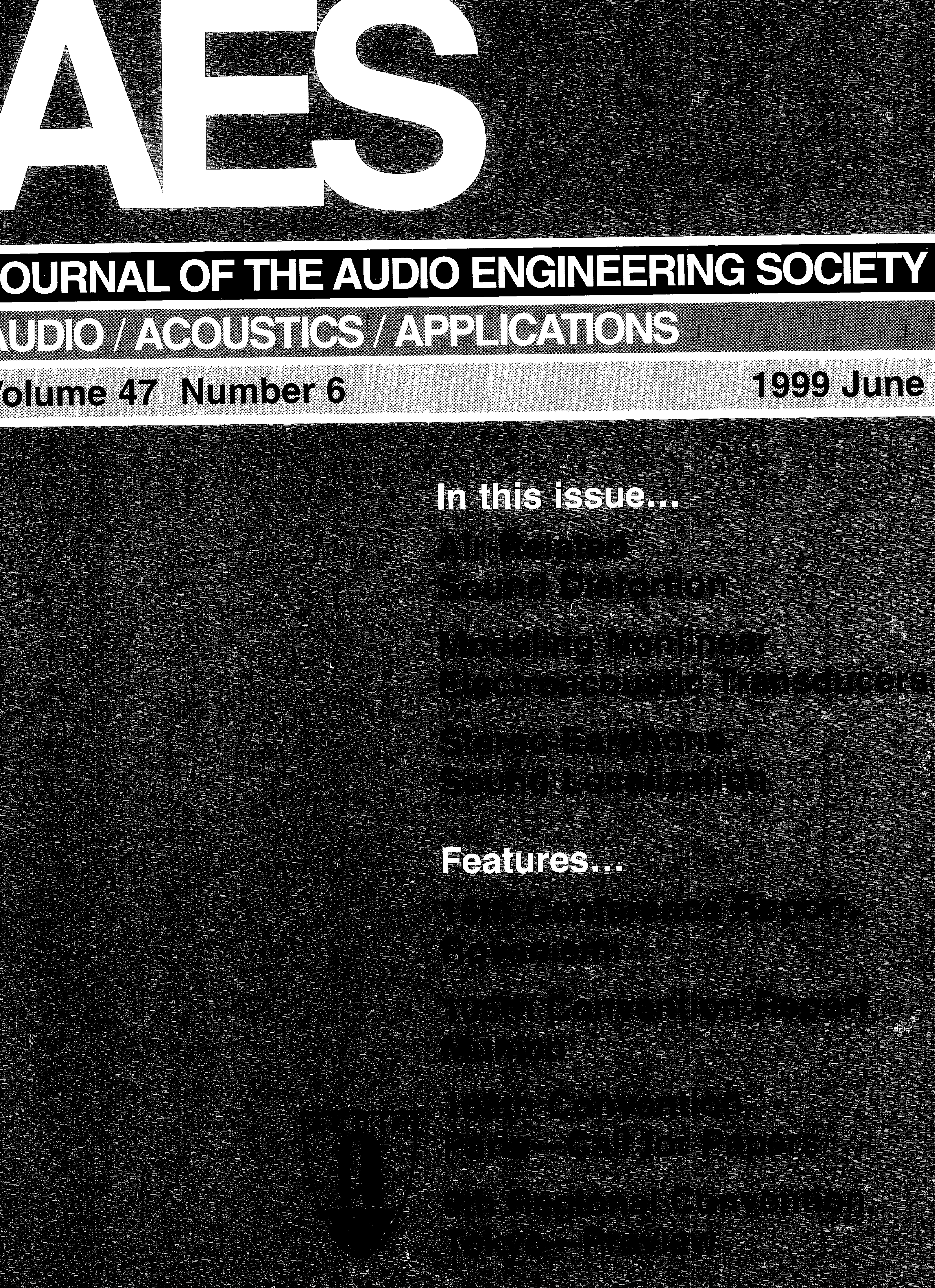Aes E Library Complete Journal Volume 47 Issue 6