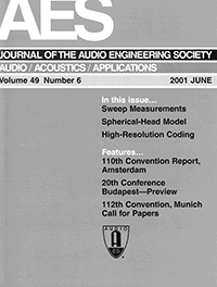 Aes e library complete journal volume 49 issue 6 complete journal volume 49 issue 6 malvernweather Images